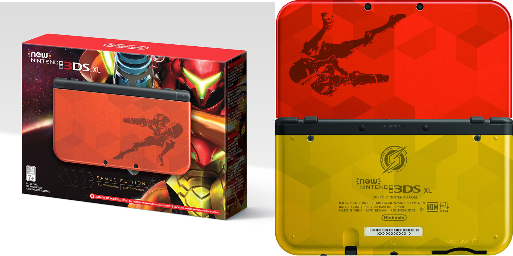 new 3ds xl - samus edition